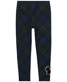 Polo Ralph Lauren Toddler Girls Cotton Tartan Leggings