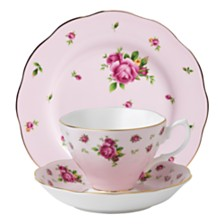 Royal Albert New Country Roses Pink 3 Piece Set