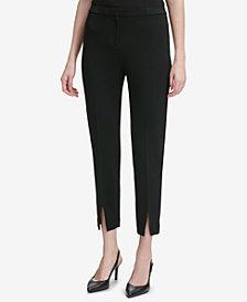 Calvin Klein Split-Hem Ankle Pants