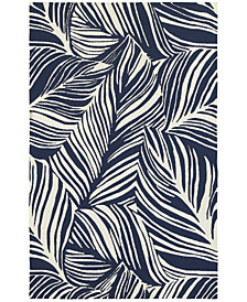 Tommy Bahama Home  Atrium Indoor/Outdoor 51105 Blue/Ivory 5' x 8' Area Rug
