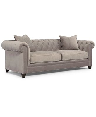Martha Stewart Collection Saybridge Sofa - Furniture - Macy'S