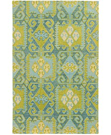 Home  Jamison 53304 Blue/Green Area Rug