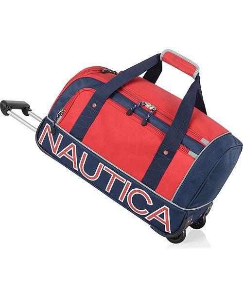 """Nautica Submariner 22"""" Wheeled Duffel"""
