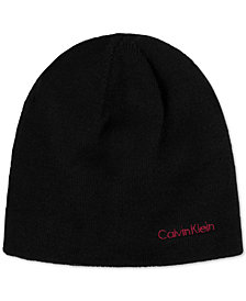 Calvin Klein Men's Reversible Solid Hat, Created for Macy's