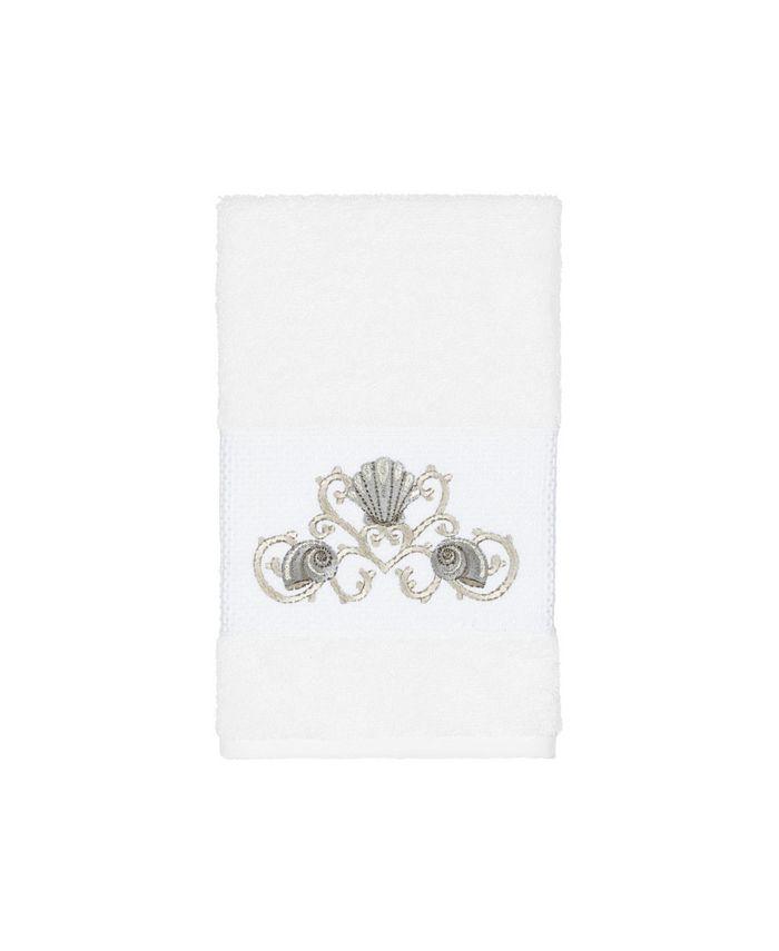 Linum Home - Bella Embroidered Turkish Cotton Hand Towel