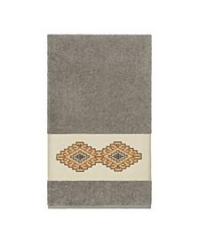 Gianna Embroidered Turkish Cotton Bath Towel