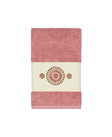 Isabelle Embroidered Turkish Cotton Hand Towel