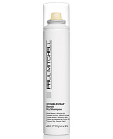 Paul Mitchell Invisiblewear Blonde Dry Shampoo, 4.7-oz., from PUREBEAUTY Salon & Spa