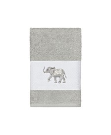 Quinn Embroidered Turkish Cotton Hand Towel