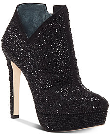 Jessica Simpson Rivera Studded Platform Booties