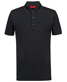 HUGO Men's Slim-Fit Tipped Polo