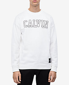 Calvin Klein Jeans Men's Blocked Logo Sweatshirt