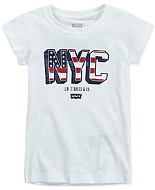 Levi's® Little Girls NYC Cotton T-Shirt