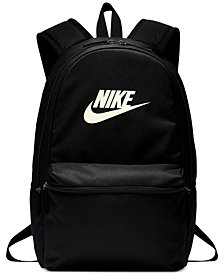 Nike Heritage Metallic-Logo Backpack