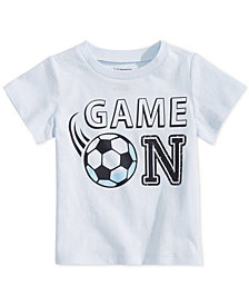 First Impressions Toddler Boys Game On-Print Cotton T-Shirt, Created for Macy's
