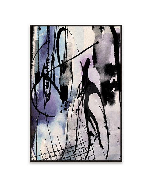 Artissimo Designs Ink Framed Hand Embellished Canvas