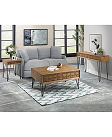 Tanner 3 Piece Occasional Table Set-Coffee Table, End Table and Sofa Table