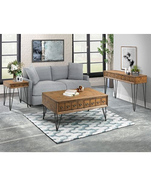 Strange Tanner 3 Piece Occasional Table Set Coffee Table End Table And Sofa Table Caraccident5 Cool Chair Designs And Ideas Caraccident5Info