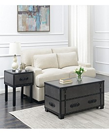 Newport 2 Piece Occasional Table Set-Table and End Table