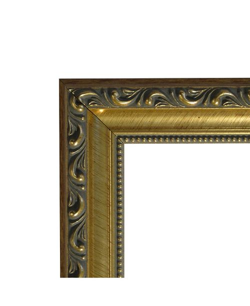 Amanti Art Parisian Bronze 32x14 Framed White Cork Board - Wall Art ...