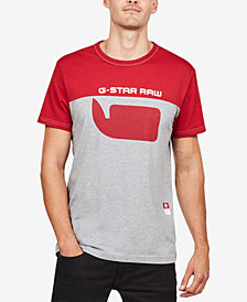 G-Star RAW Men's Colorblocked T-Shirt