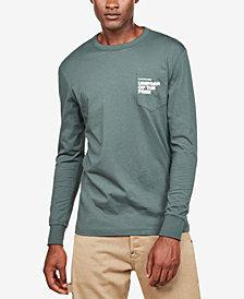 G-Star RAW Men's Long-Sleeve Uniform of the Free Pocket T-Shirt