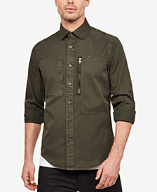 G-Star RAW Men's Kenneth Utility Shirt