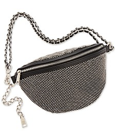 Steve Madden Bling Sparkle Convertible Belt Bag