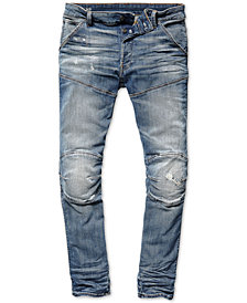 G-Star RAW Men's Slim-Fit Moto Jeans, Created for Macy's