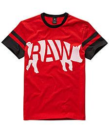 G-Star RAW Mens Chinese New Year Velvet Flocked Graphic T-Shirt, Created for Macy's