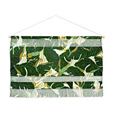 "Deny Designs Iveta Abolina Jungle Polka Wall Hanging Landscape, 47""x34"""