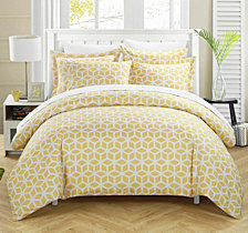 Chic Home Elizabeth 9 Pc Queen Duvet Set