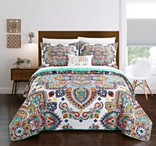 Chic Home Chagit 8-Pc. Quilt Sets