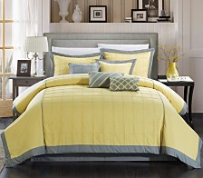 Chic Home Rhodes 12 Pc Comforter Set Collection