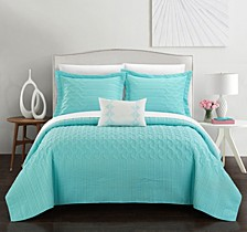 Shalya 8 Pc Queen Quilt Set