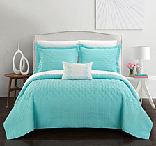 Chic Home Shalya 8 Pc Queen Quilt Set