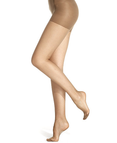 Berkshire Sheer Queen Size Silky Extra Wear Control Top with Reinforced Toe Hosiery 4489
