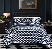 Normani 8 Pc Queen  Duvet Set