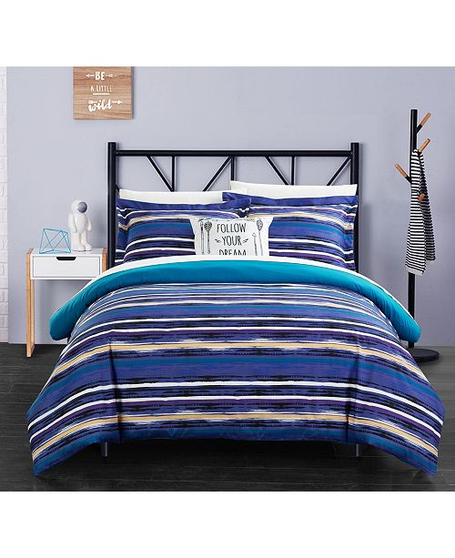 Chic Home Karan 8 Pc Full  Duvet Set