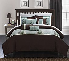 Chic Home Evan 12 Pc Comforter Set Collection