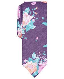 Penguin Men's Lynsey Skinny Floral Tie
