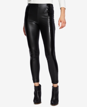 1.STATE FAUX-LEATHER PULL-ON LEGGINGS