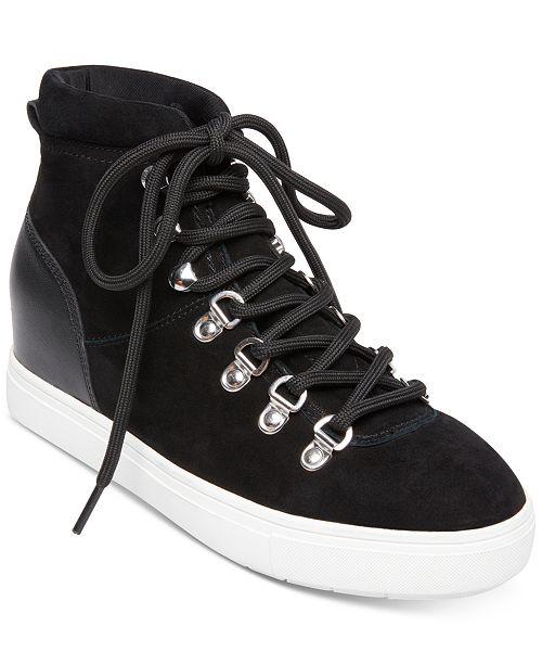 acda7686a47 ... STEVEN by Steve Madden Women s Kalea Lace-Up Hiker Sneakers ...