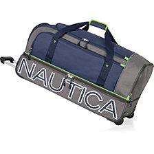 """Nautica Submariner 32"""" Wheeled Duffel"""