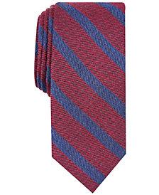 Bar III Men's Bayside Stripe Skinny Tie, Created for Macy's