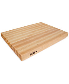 "John Boos Hard Rock Maple 24"" x 18"" Reversible Cutting Board"