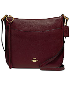 COACH Chaise Crossbody in Polished Pebble Leather