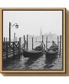 Amanti Art Morning in Venice by Yuppidu Canvas Framed Art