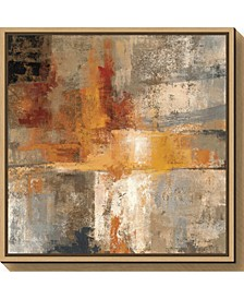 Silver and Amber Crop by Silvia Vassileva Canvas Framed Art