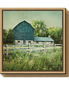 Amanti Art Blissful Country III Barn by Elizabeth Urquhart Canvas Framed Art